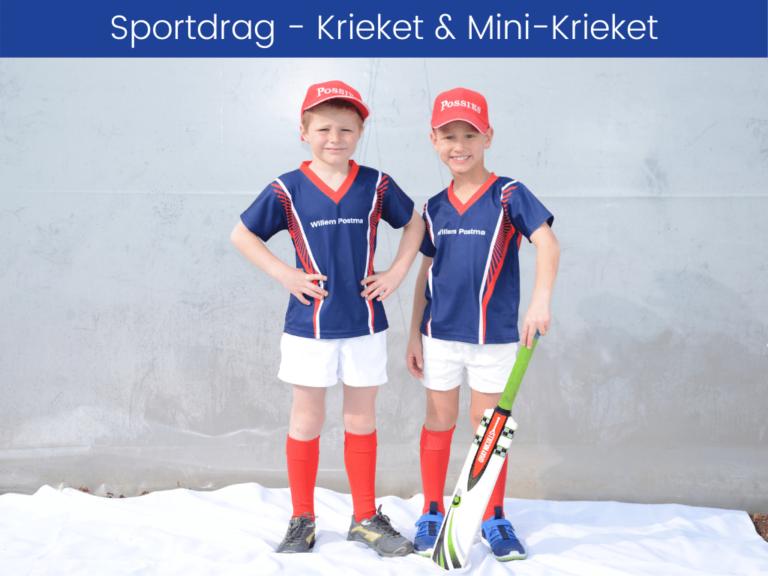 Sportdrag - Krieket